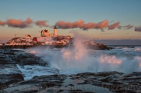 Sunset Nubble Lighthouse