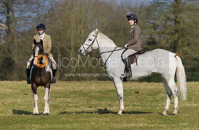 The Belvoir Hunt at Goadby Marwood Hall 2/3 photos