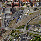 Rail/road Junction, Aalborg