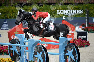 Lucy DAVIS ,(USA), CURTIS 72 during Queen's Cup - Segura Viudas Trophy competition at CSIO5* Barcelona at Real Club de Polo, Barcelona - Spain