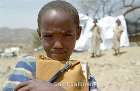 Tigray boy at camp 02