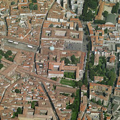 Vigevano aerial photos