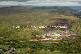 Aerial photograph - Black Mountain Quarry