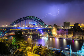 Tyne Bridge Lightning (2)