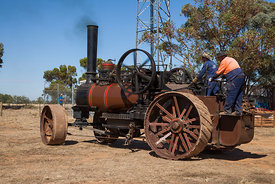 Fowler single cylinder ploughing engine