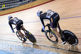 Master Men Team Sprint. Canadian Track Championships, Mattamy National Cycling Centre, Milton, On, September 26, 2016
