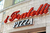 i Fratelli Pizza Sign