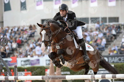 Mohamed TALAAT ,(EGY), CONNAUGHT during Longines Cup of the City of Barcelona competition at CSIO5* Barcelona at Real Club de Polo, Barcelona - Spain
