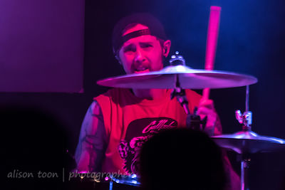 "Trevor ""Tre"" Stafford, drums, Adelitas Way"