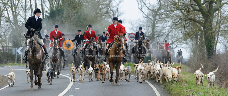 The Cottesmore & Quorn Hunts at the Quorn Kennels 11/2 photos