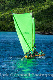 Racing yacht in Martinique 1
