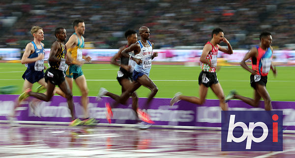 IAAF World Championships, Day Six, The Stadium, Queen Elizabeth Olympic Park, Stratford, London, UK, 9 Aug 2017