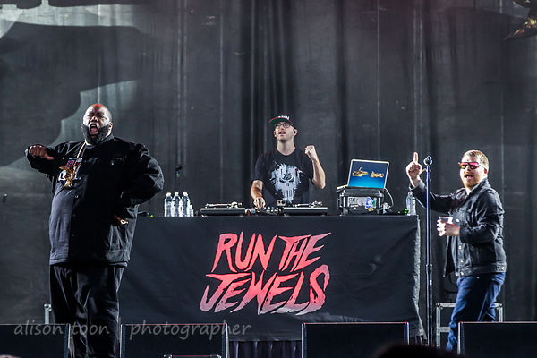 Run The Jewels at Aftershock 2017 photos