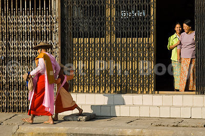 BURMA, MANDALAY, MONK COLLECTION