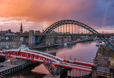 Sunset Rainbow on the Tyne