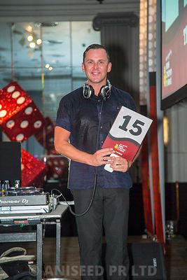 Scott Mills - Children in Need Ball - The Dorchester Park Lane