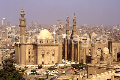 Sultan Hassan Mosque in Egypt