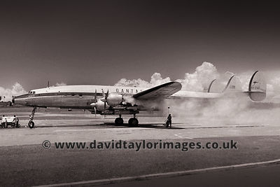 Smokey | Super Constellation VH-EAK | Paya Lebar June 1962