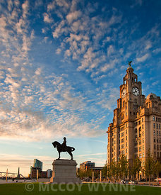 The Liver Building and Edward VII