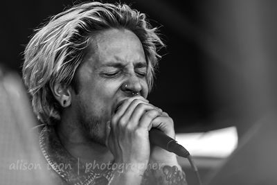 Telle Smith,, vocals, The Word Alive