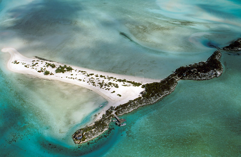 Pipe Cay, a very small island in the Exuma chain, located in the central portion of the Bahamas Archipelago. It is locataed in 'Pipe Creek', which contains a number of islands. December 2006