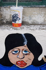 Graffiti and McDonalds