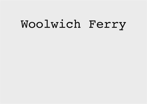 Woolwich Ferry photos