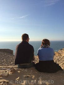 Enjoy the view at Rubjerg Knude