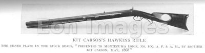 Rifle owned by Kit Carson