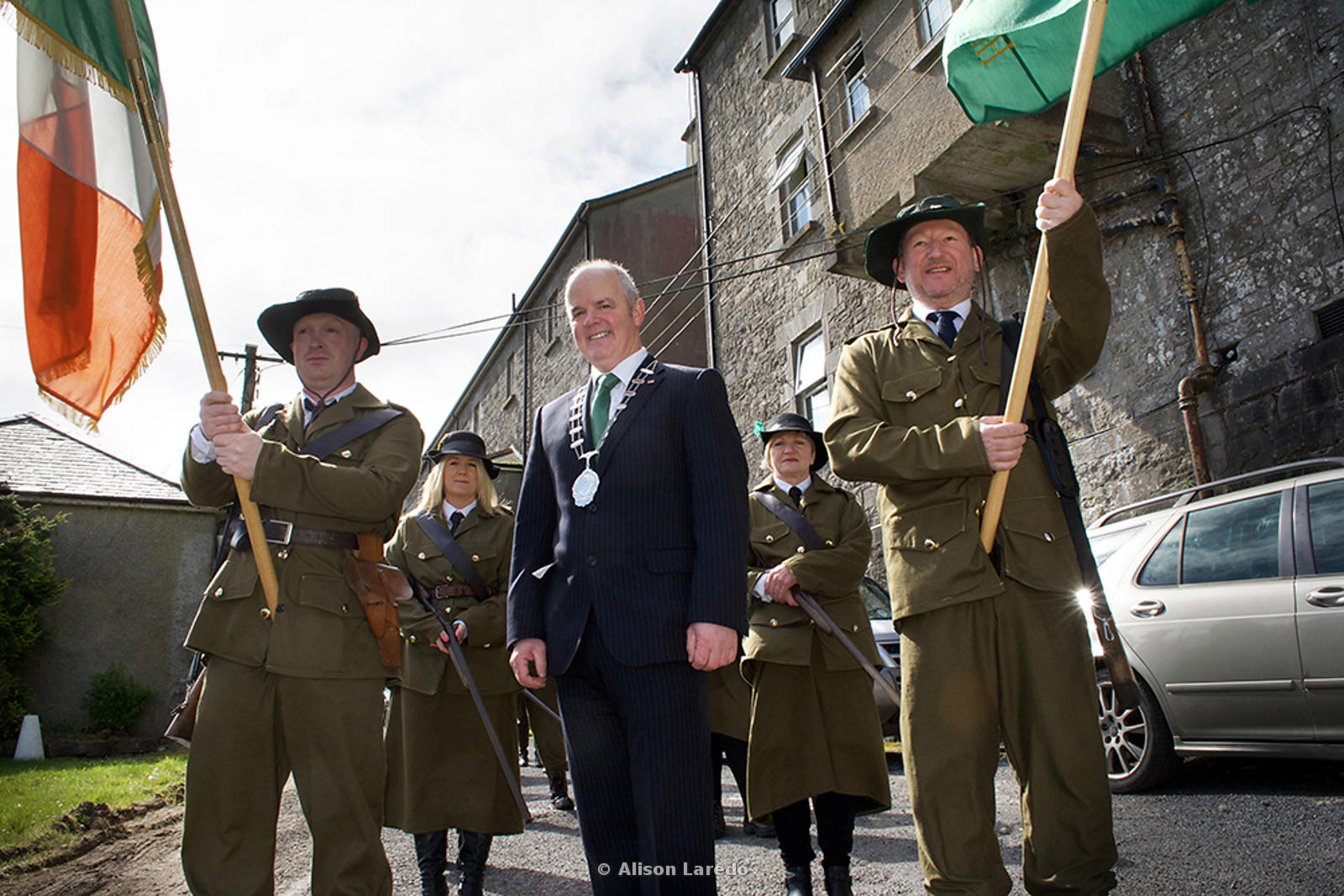 1916 Commemoration, Castlebar PHOTO: ALISON LAREDO