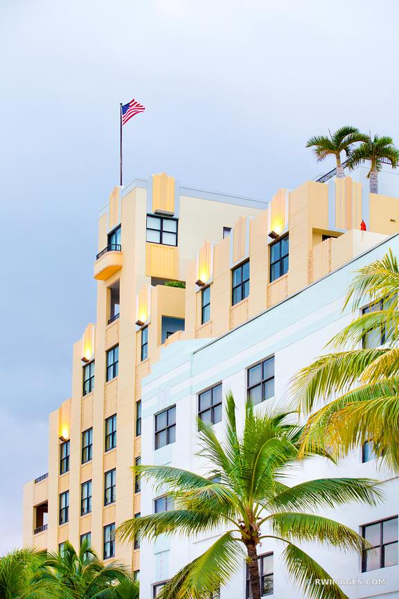 ART DECO ARCHITECTURE MIAMI BEACH FLORIDA