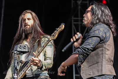 Matt DiRito and Leigh Kakaty, Pop Evil