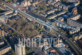 Aerial Photography Taken In and Around Hackney-Shoreditch