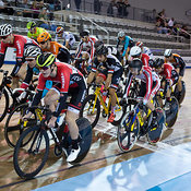 Cat 1 Men Elimination Race, 2017/2018 Track Ontario Cup #1, Mattamy National Cycling Centre, Milton On, December 10, 2017