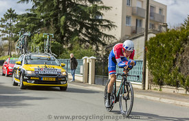 The Cyclist Wilco Kelderman - Paris-Nice 2016