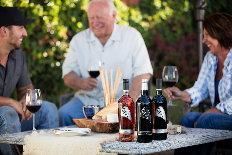 Lifestyle commercial + editorial drink photography Lodi winery