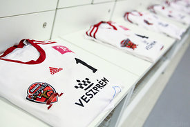 dressing room during the Final Tournament - Final Four - SEHA - Gazprom league, Semi Final match, Varazdin, Croatia, 01.04.2016, ..Mandatory Credit ©SEHA/Zsolt Melcer..
