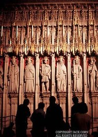 England, Interior of York Cathedreal