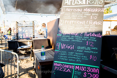 Food at TBD Fest, 2014