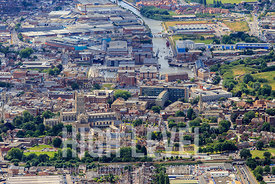 Aerial Photography Taken In and Around Gloucester-Quays