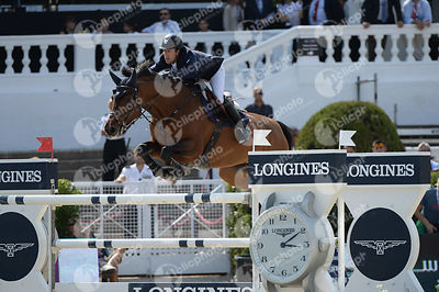 Maikel VAN DER VLEUTEN ,(NED), VDL GROEP ARERA C during Longines Cup of the City of Barcelona competition at CSIO5* Barcelona at Real Club de Polo, Barcelona - Spain