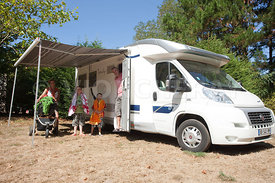 Photo de vacances en camping car