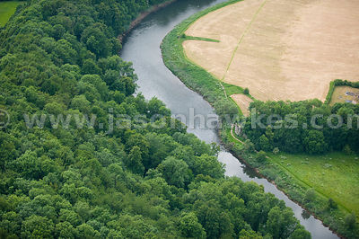 River Wye, Chapel Hill, Wales