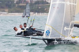 Be Light, HUN 18, 18ft Skiff, Euro Grand Prix Sandbanks 2016, 20160904142