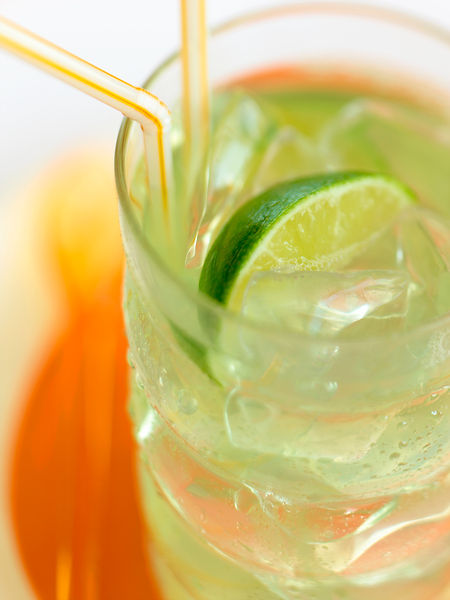 Lime Iced Tea Drink