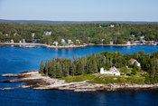 Burnt Island Lighthouse, Boothbay Harbor