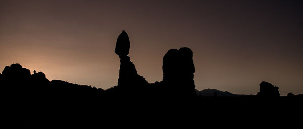 Balanced Rock at Sunrise