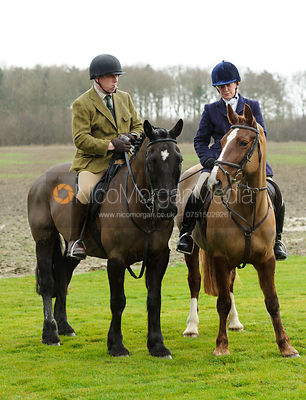 The Belvoir Hunt at Burton Pedwardine 25/2 photos
