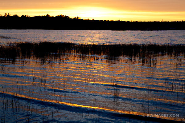 JACKSON HARBOR RIDGES WASHINGTON ISLAND DOOR COUNTY WISCONSIN SUNSET COLOR