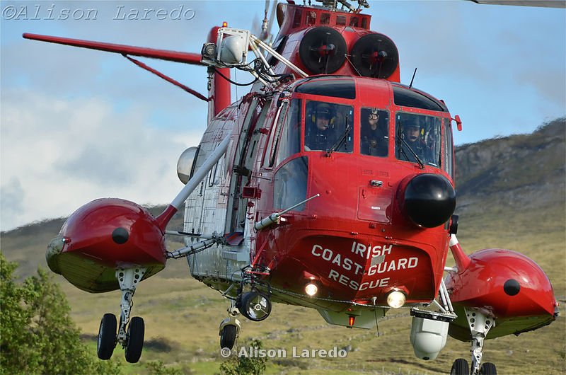 Mayo Mountain Rescue, Helicopter training